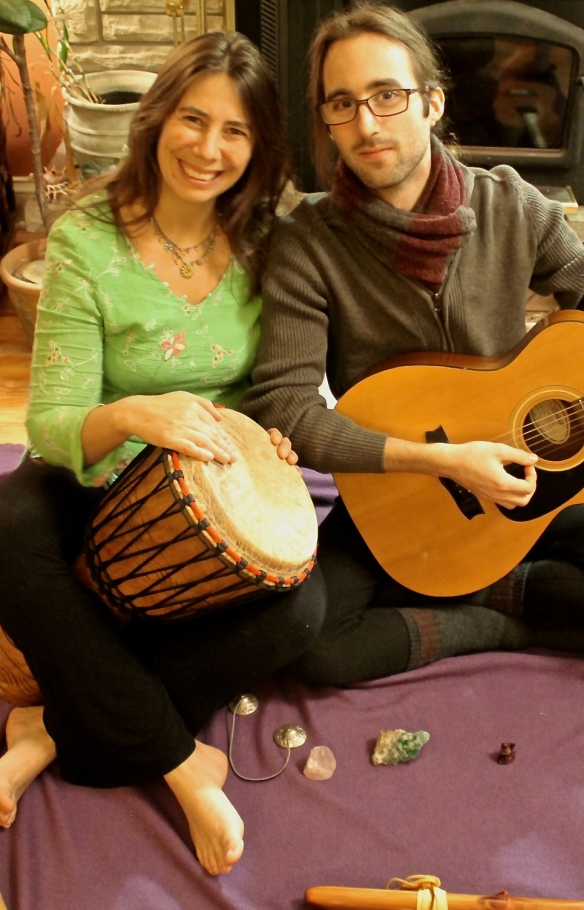 Rebecca and Kevin Kirtan Photo